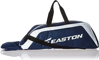 EASTON E100T Youth Bat & Equipment Tote Bag | Baseball Softball | 2020 | 2 Bat Compartment | Main Gear Compartment | Fence Hook | Shoulder & 2 Handle Straps
