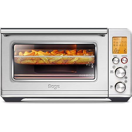 SAGE SOV860 the Smart Oven Air Fryer, four posable 10 fonctions de cuisson intelligentes dont la friture à l'air chaud, Capacité 22 Litres