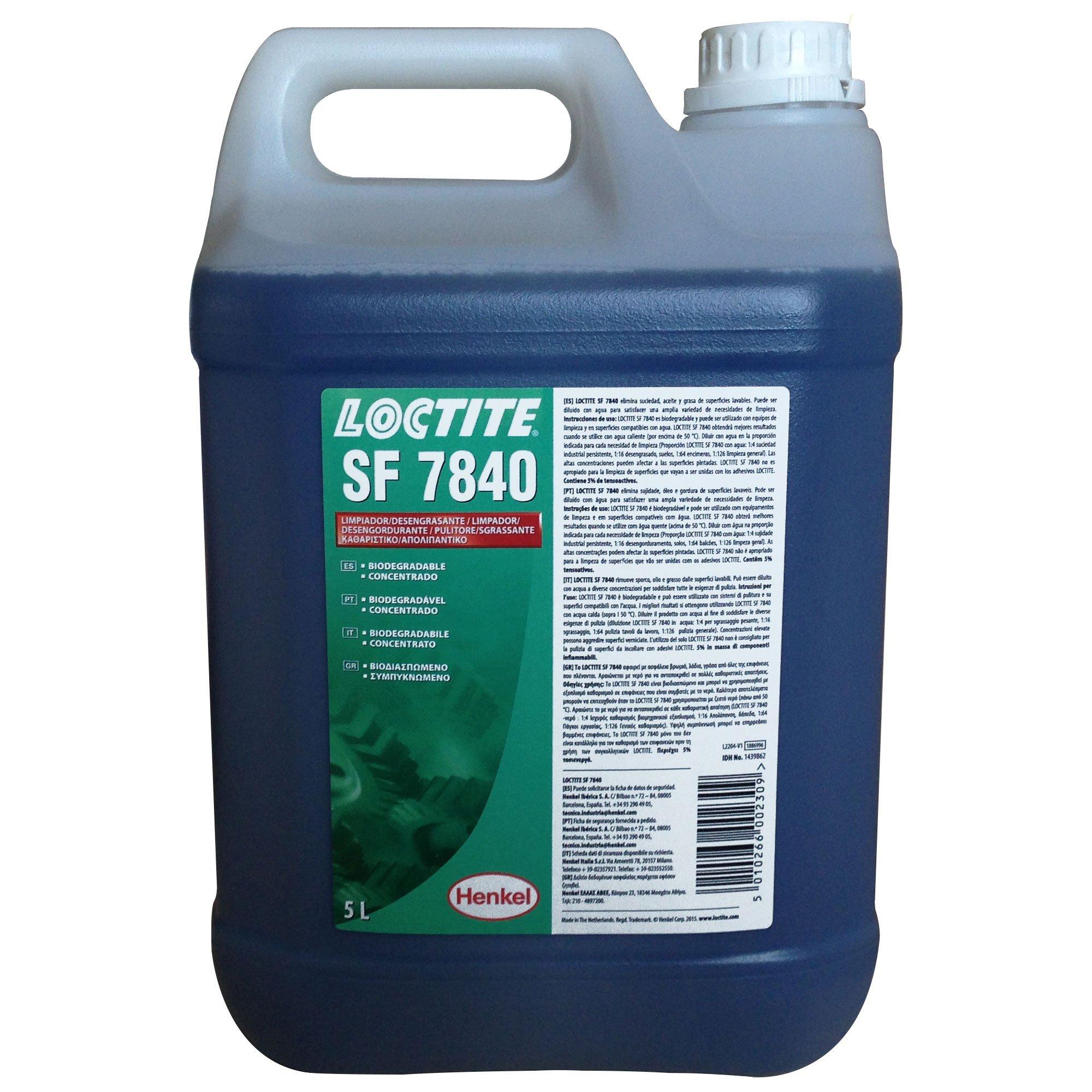 Henkel - Loctite Sf 7840 5L Epig Desengrasante Uso General: Amazon ...
