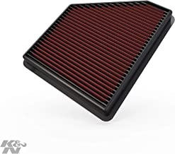 K&N engine air filter, washable and reusable: 2010-2015 Chevy Camaro, Camaro SS, Camaro ZL1 33-2434