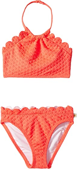 Kate Spade New York Kids - Scalloped Two-Piece (Toddler/Little Kids)