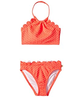 Scalloped Two-Piece (Toddler/Little Kids)