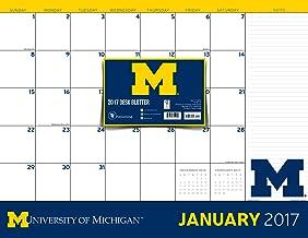 2017 University of Michigan 12 Month Desk Blotter