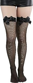 bow garter tights