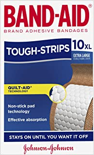Band-Aid Tough Strips Extra Large 10