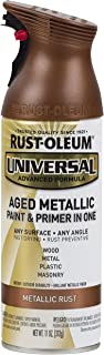 Rust-Oleum 285072 Universal All Surface Spray Paint, 11 oz, Aged Metallic Rust