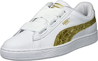 PUMA Womens Basket Heart Glitter Wn