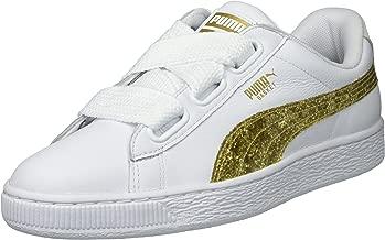 PUMA Women's Basket Heart Glitter Wn Sneaker