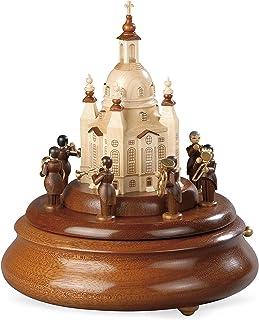 Müller Electronic Music Box, Brass Player Ensemble Ludwig Güttler on The Frauenkirche, Original Erzgebirge by Mueller Seiffen