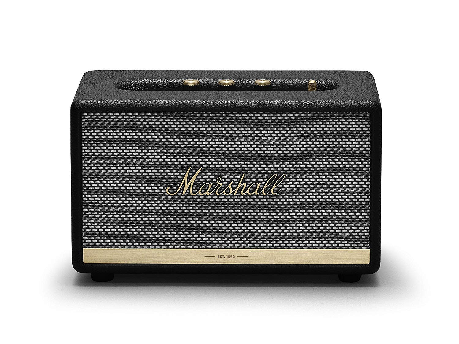 마샬 액톤 II 블루투스 스피커 블랙 [리뉴 제품] Marshall Acton II Wireless Bluetooth Speaker - Black (Certified Refurbished)