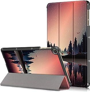 غطاء لجهاز Huawei Matepad T10s 2020، غطاء نحيف وخفيف الوزن ثلاثي الطي ذكي غطاء واقي للجهاز اللوحي لجهاز Huawei Matepad T10...