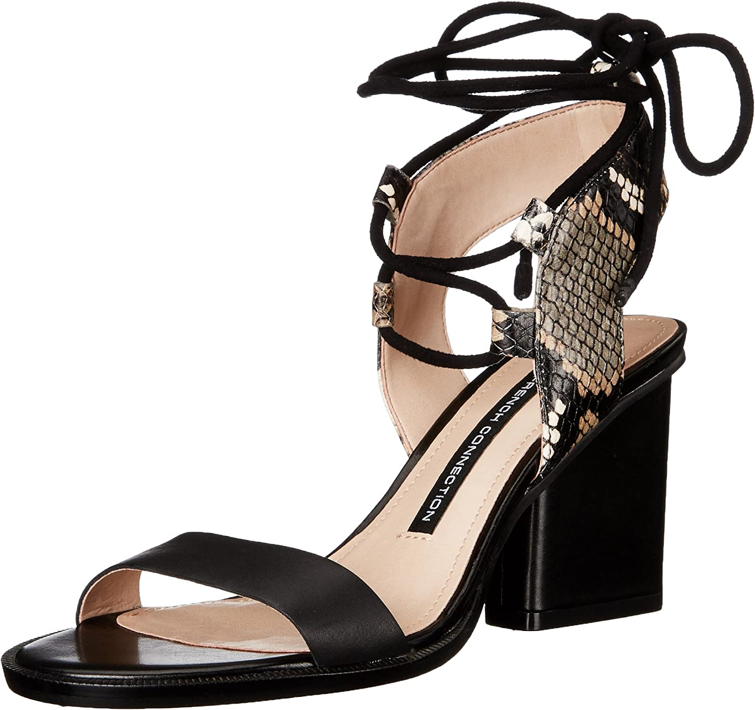 French Connection Womens Jalena Dress Sandal