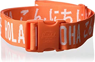 Herschel Luggage Belt, Vermillion Orange, One Size