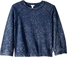 Baby French Terry Mineral Wash Top (Big Kids)