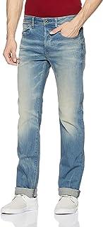 G-Star Raw Men's 3301 Straight-Fit Jean in Cyclo Stretch Denim