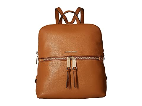 d331a09745fc5 MICHAEL Michael Kors Rhea Zip Medium Slim Backpack at Zappos.com