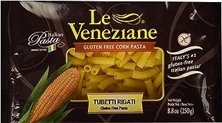 Le Veneziane Italian Gluten Free Corn Pasta Tubetti Rigate 250