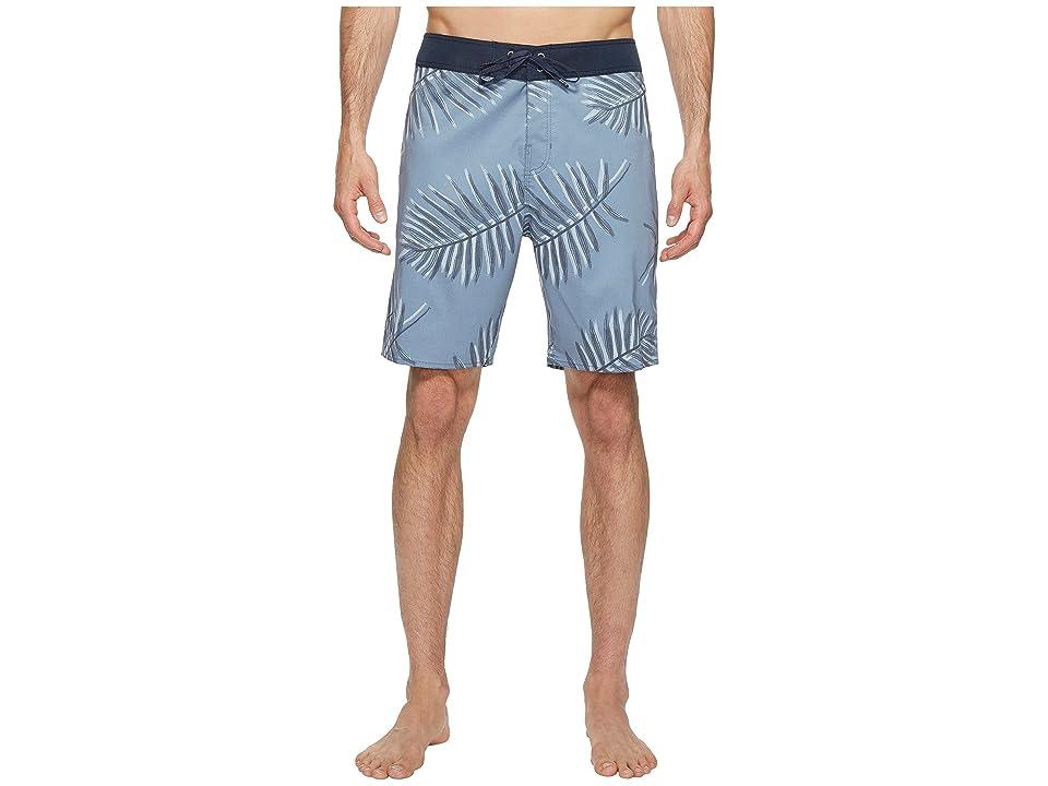 3d109ac095 Brixton Barge Trunks (Grey Blue) Men's Swimwear