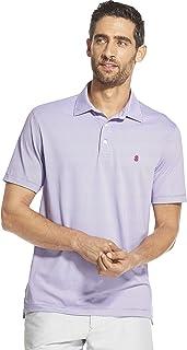 Izod Mens 45PK056 Breeze Short Sleeve Solid Polo Short Sleeve Polo Shirt