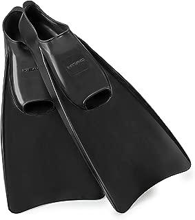 Mares Italian Collection Premium Corda Rubber Full Foot Swim Snorkeling Fin - Soft Orthopedic Foot Pockets Snorkel Flippers