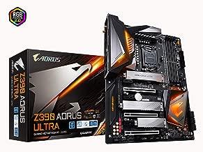 GIGABYTE Z390 AORUS Ultra (Intel LGA1151/Z390/ATX/3xM.2 Thermal Guard/Onboard AC Wi-Fi/RGB Fusion/Gaming Motherboard)