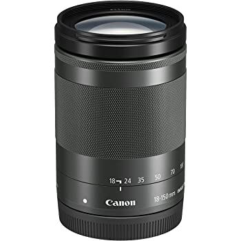 Canon EF-M 18-150mm f/3.5-6.3 IS STM Lens (Graphite)