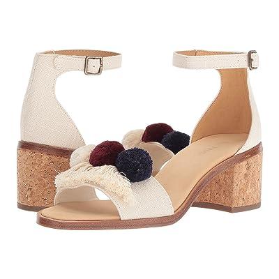 Soludos Capri Pom Pom Heel (Blush) Women