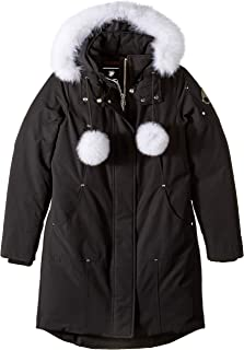 Moose Knuckles Women's Stirling Down Parka/ Winter Jacket with Genuine Fox Fur Trim