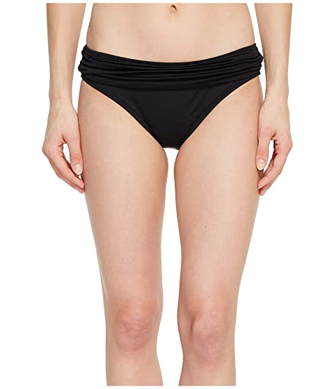 La Blanca Island Goddess Shirred Waist Hipster Bottom Black Outlet Best Prices Sale Online Store 100% Guaranteed Cheap Supply mDG4t