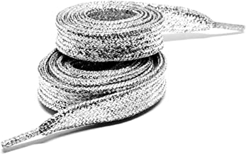 One Pair of Metallic Glitter Shoelaces From Maxstrapz Sparkly Shoe Laces
