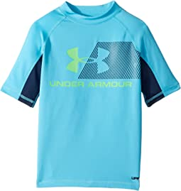 Under Armour Kids H20 Reveal Short Sleeve Rashguard (Big Kids)