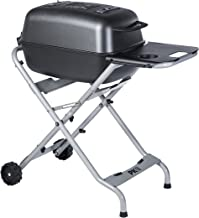 PK Grills PKTX Outdoor Portable Aluminum Charcoal Grill and Smoker