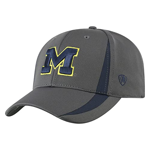890a5638 Top of the World NCAA Men's Performance Fitted Charcoal Triumph Icon Hat