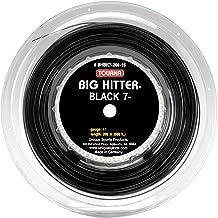 Tourna Big Hitter Black 7 Ultimate Spin String, Black7 Carrete