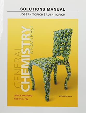 Instructor Solution Manual for General Chemistry: Atoms First