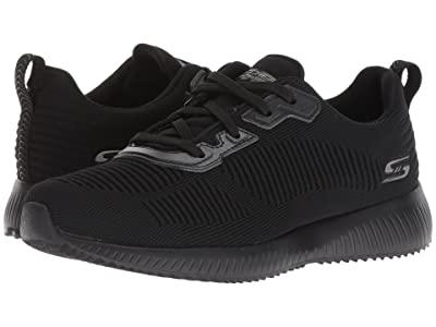 BOBS from SKECHERS Bobs Squad Tough Talk (Black/Black) Women