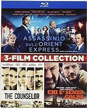 Assassinio Sull'Orient Express / The Counselor / The Drop (3 Blu-Ray) [Italia] [Blu-ray]
