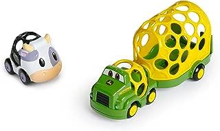 Oball Go Grippers John Deere Construction Crusiers Trailer Set Push Vehicles, Tough Ol' Hauler