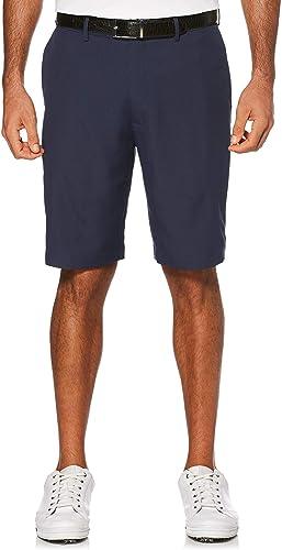 PGA TOUR Men's Expandable Flat Front Golf Short