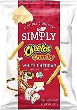 Simply Cheetos Crunchy, White Cheddar, 8.5oz
