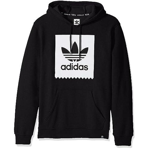 adidas hoodie mens black