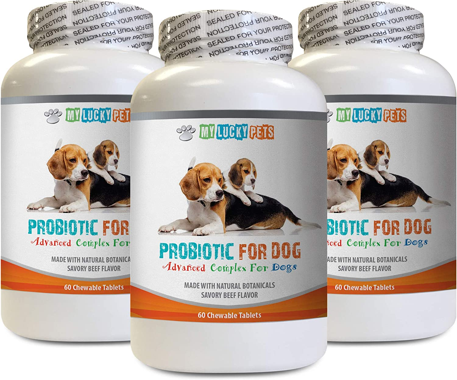 MY LUCKY PETS LLC Digestive Omaha Mall upsets PROBIOTICS shop Dog B for Dogs -