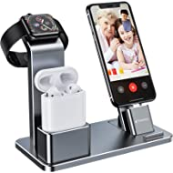 YoFeW Charging Stand for Apple Watch Charger Stand Aluminum Dock Holder Compatible for iWatch...