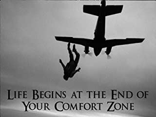Skydiving Poster Sky Diving Skydive Parachuting Motivational Poster 18x24