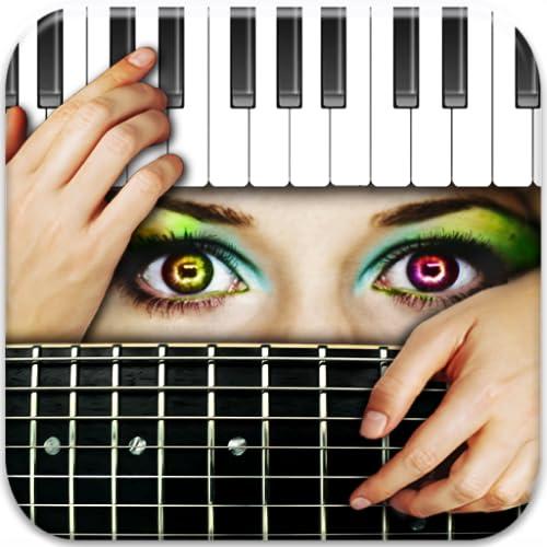 Chords Maestro: Finden Sie Gitarren-, Klavier-Akkorde & mehr!