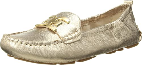 Sam Edelman Femmes Chaussures Loafer Couleur Metallic Dark or Leather Taille 3