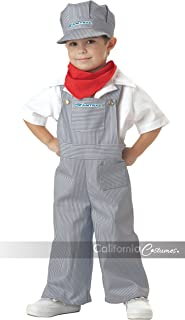 California Costumes Amtrak Train Engineer Costume, 3-4