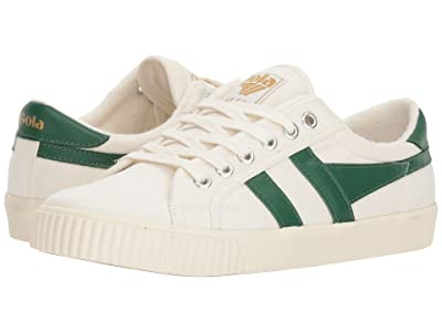 Gola Tennis Mark Cox (Off-White/Dark Green) Women