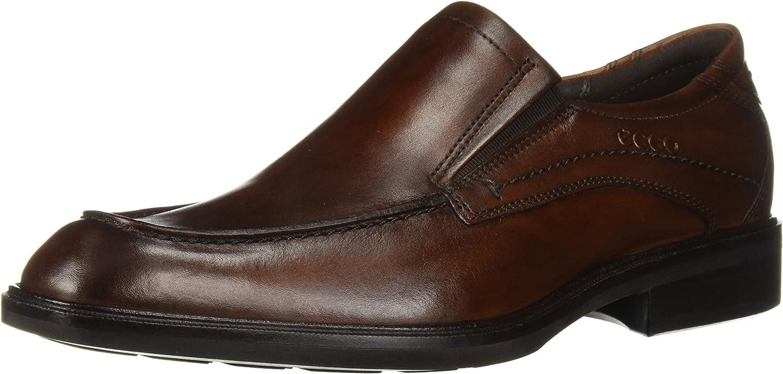 ECCO ECCO Men's Windsor Slip-on Loafer, Amber, 44 M EU (10-10.5 US)