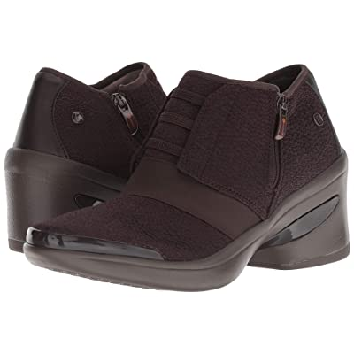 Bzees Enlighten (Dark Brown Knit) High Heels